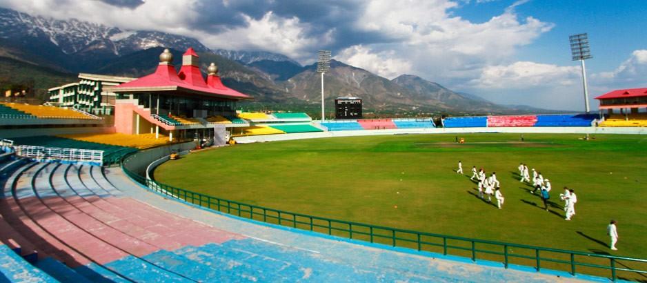 Cricket Stadiums In India-Dharamshala-Stadium