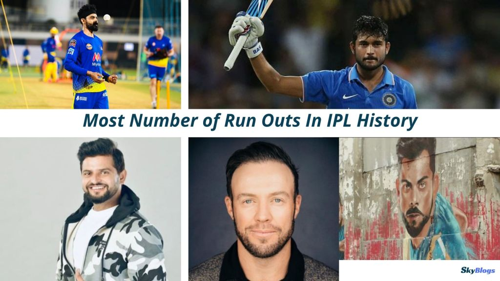 Most Number of Run Outs In IPL History