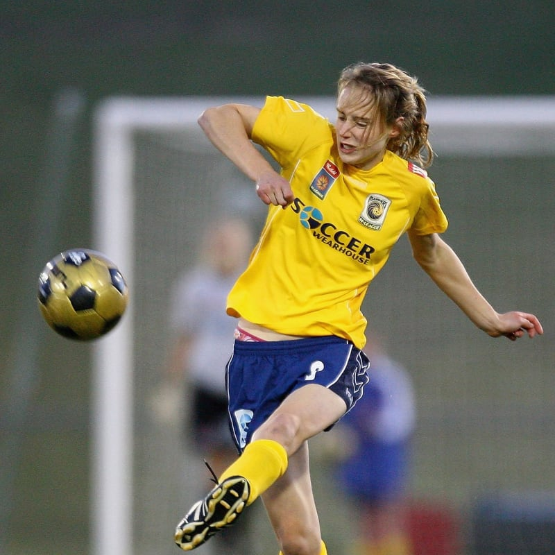 Ellyse Perry as football player