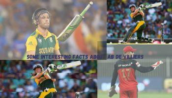 Interesting Facts About AB DE Villiers