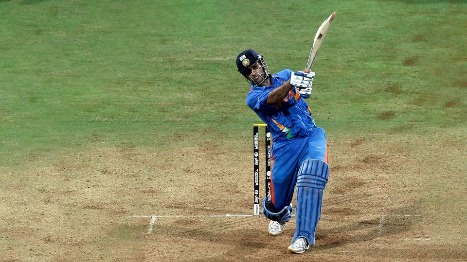 ms dhoni most sixes in odi