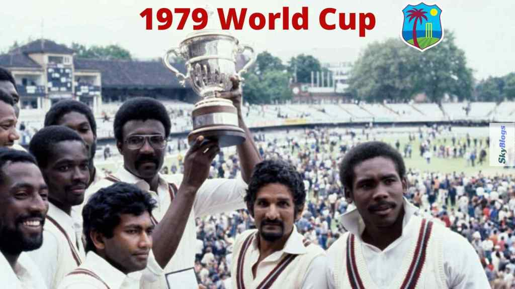 list  of cricket world cup winners since 1975 to 2019 - West Indies was the 1979 World Cup Winner