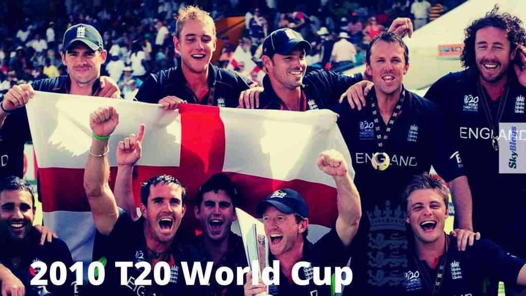 ENGLAND WON T20 WC2010