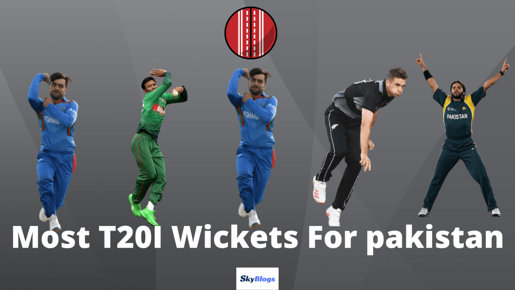 Most T20I Wickets For Pakistan