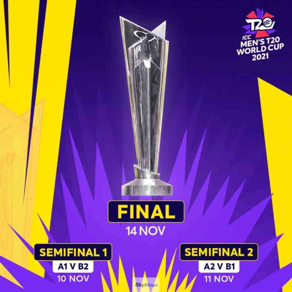 T20 World Cup 2021 final 14th Nov 2021