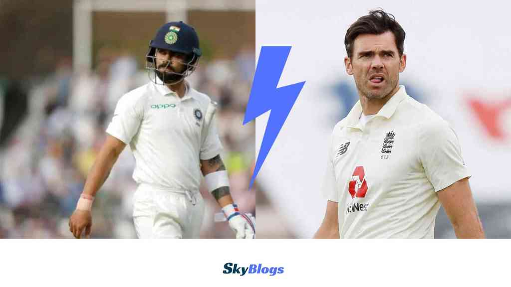 """""""This is not your backyard""""- Kohli And Anderson's Verbal Spat Caught On Stump Mike At Lord's"""