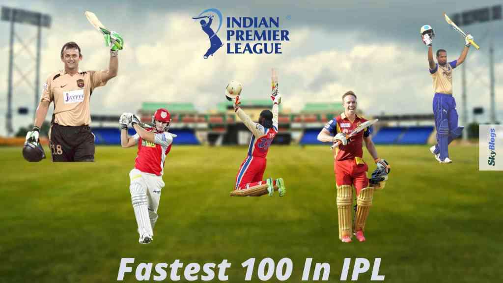 Fastest Century In IPL History