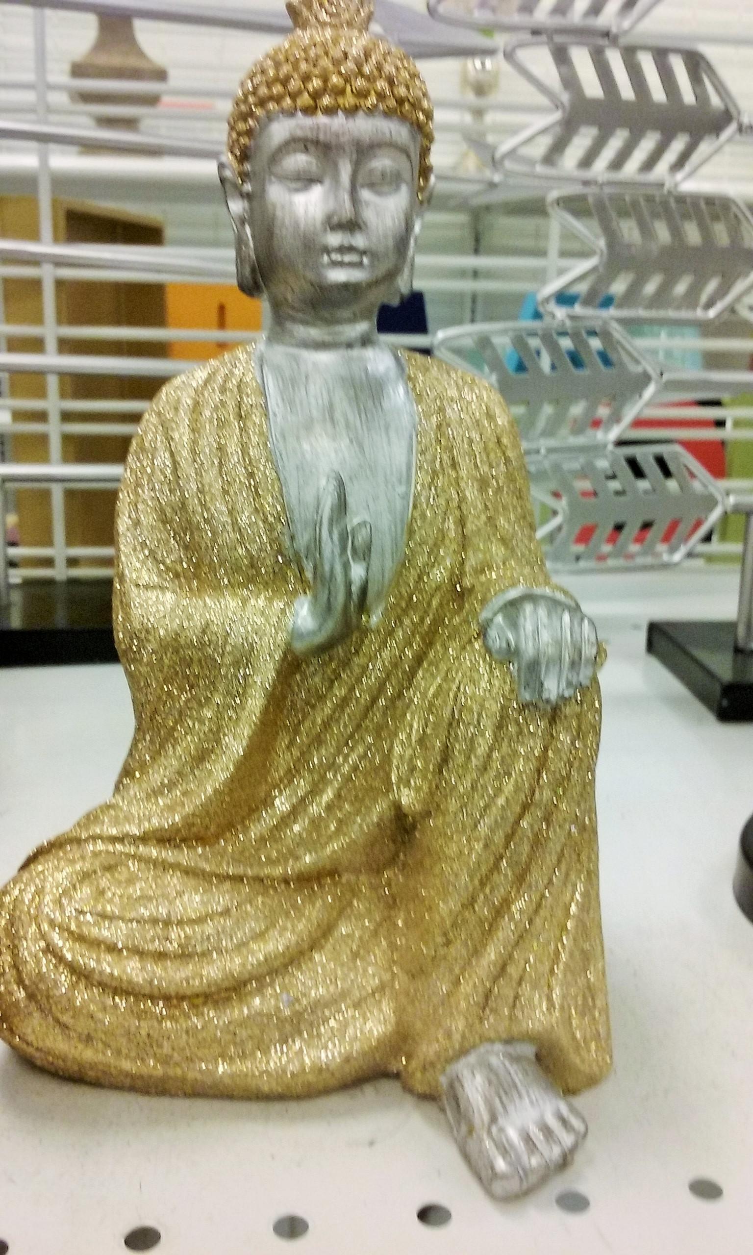 gold robe