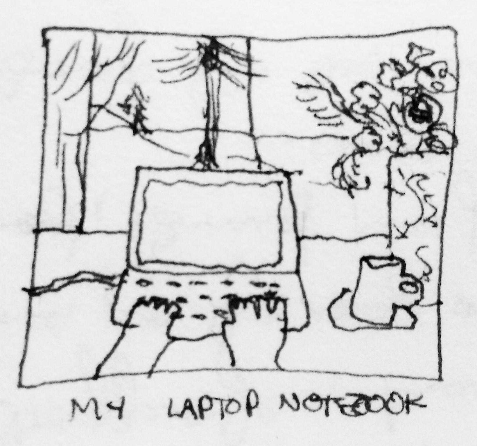 my laptop