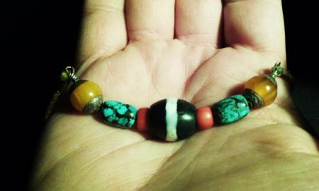 dzi-necklace-mine