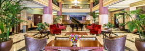 Hilton President Kansas City Lobby