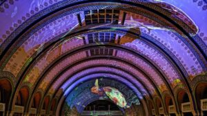 Best Hotel in St Louis Light Show