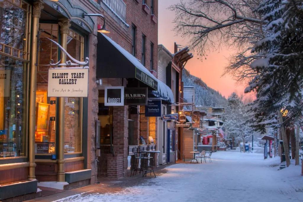 Aspen Colorado Shopping