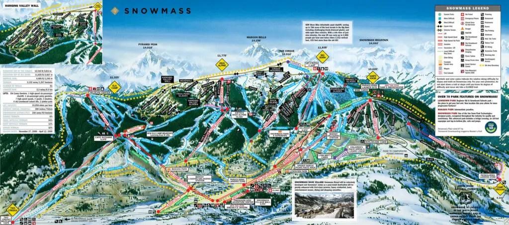 Aspen Colorado Ski Slopes