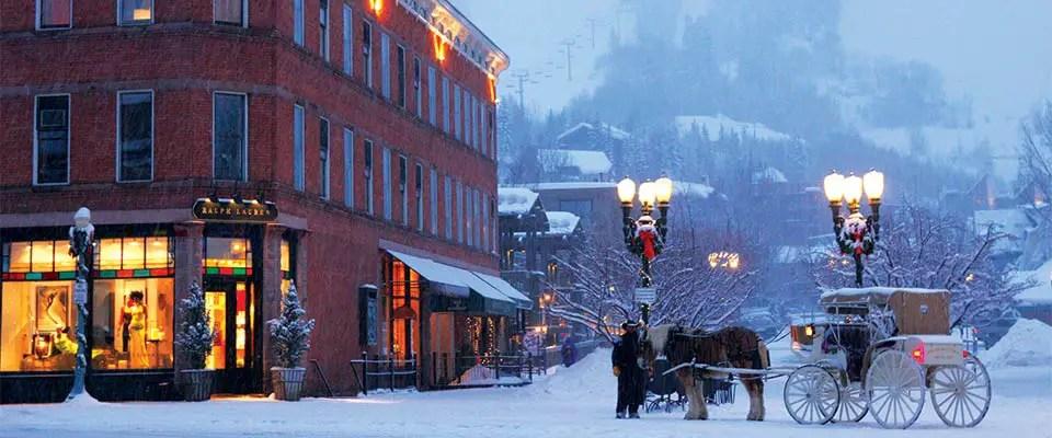 Aspen Snowmass Colorado Shopping