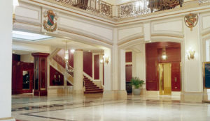 The Fort Garry Hotel Lobby