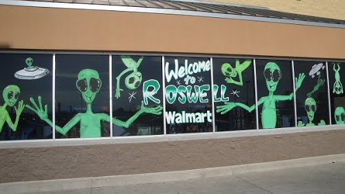 Shopping in Roswell