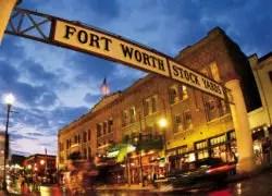 Fort Worth, TX Stock Yard