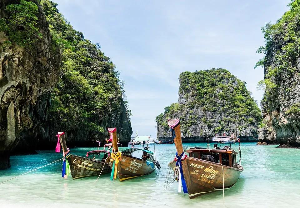 Thailand, Phuket, Koh-Phi-Phi, Island Tour