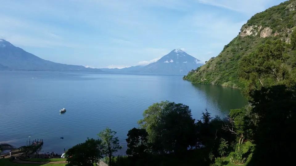 Lake Atitlan Panajachel Solola Guatemala