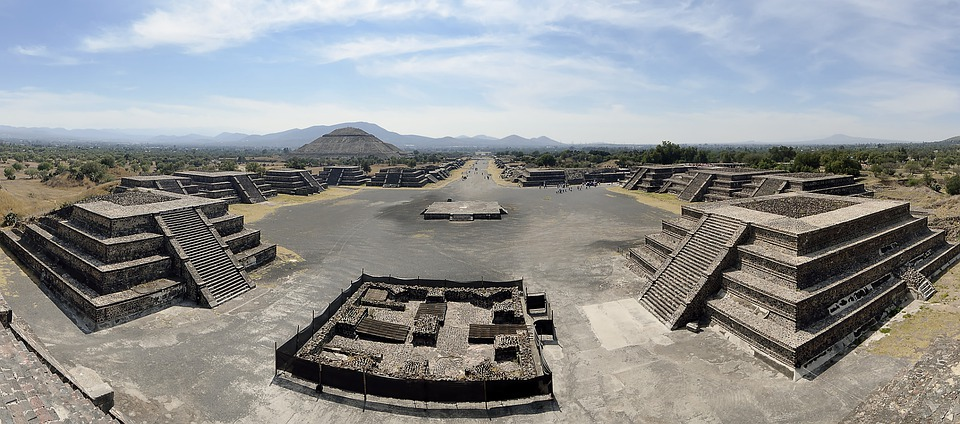 Mexico Teotihuacan Ancient City of Pyramids
