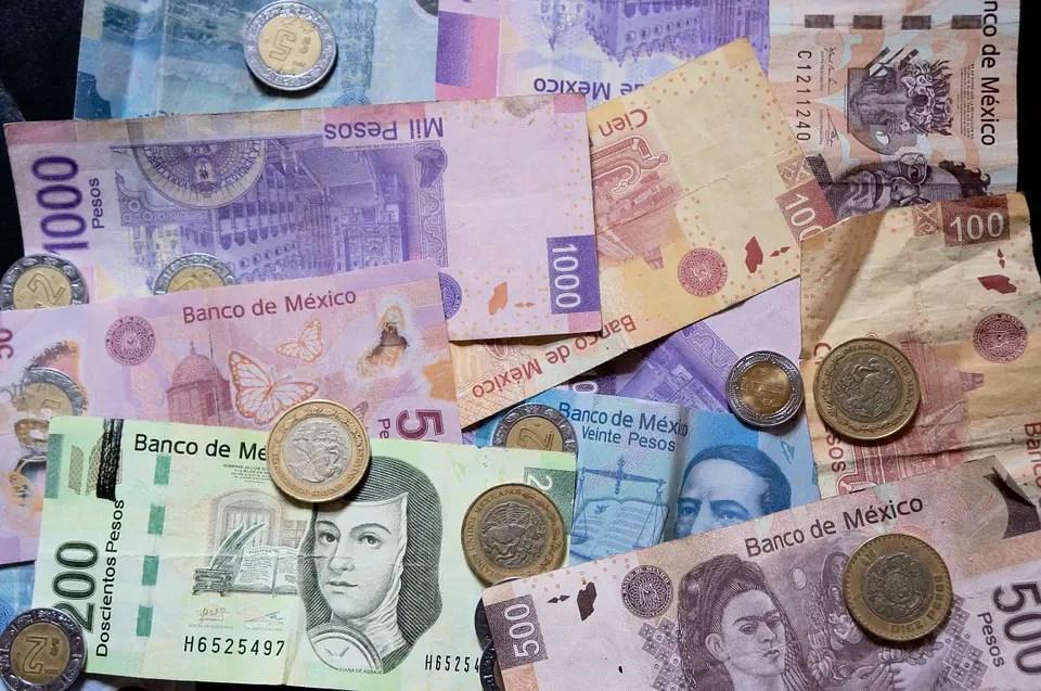 Mexican Pesos Money Mexico