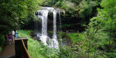Waterfall Dry Falls North Carolina Highlands