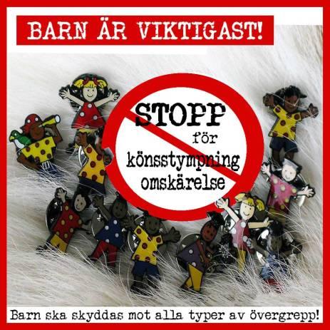 Barnperspektiv - STOPP för könsstympning & omskärelse!