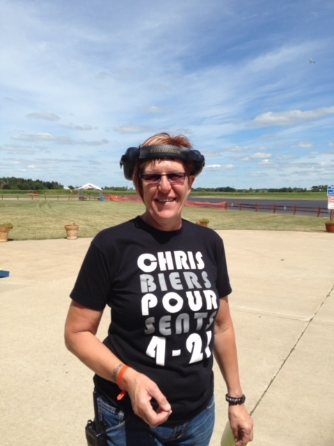 Christa Cross skydiver in chicago