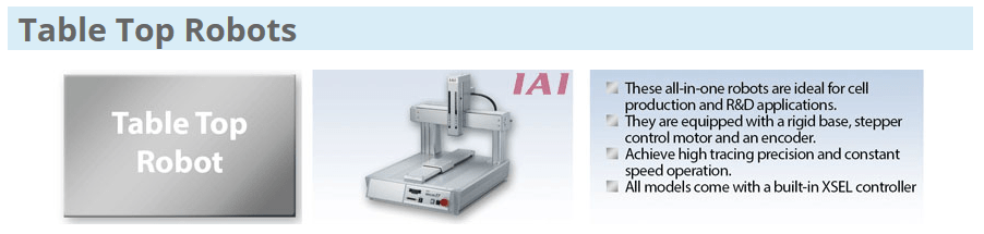 IAI Table Top