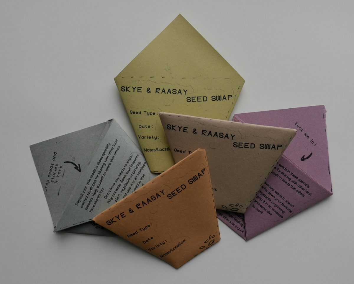 envelopes for sharing seeds