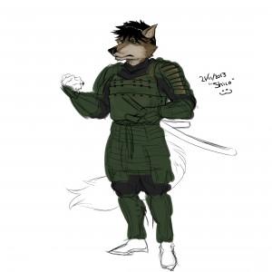 Early Shiro Concept, courtesy of Jotun
