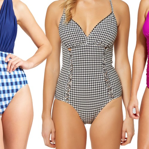 20 Adorable One-Piece Swimsuits Under $100!