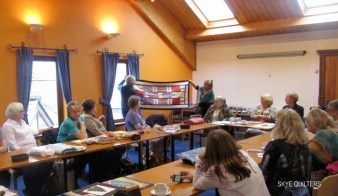 Skye Quilters meeting in Portree