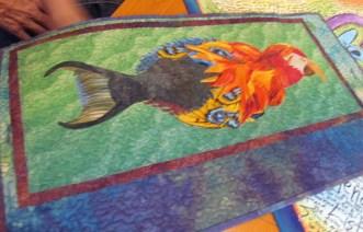 Fantasy creature quilt