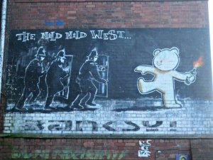 Banksy's The Mild, Mild West