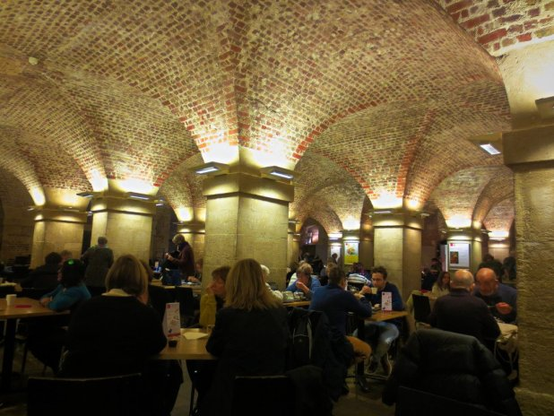 Cafe in the Crypt