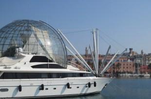 Genova from Harbor