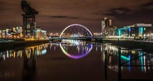 Clyde arch, Glasgow, Scotland