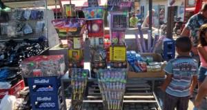 Fireworks in Old Bazaar