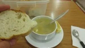 Chicken Soup at Kismet