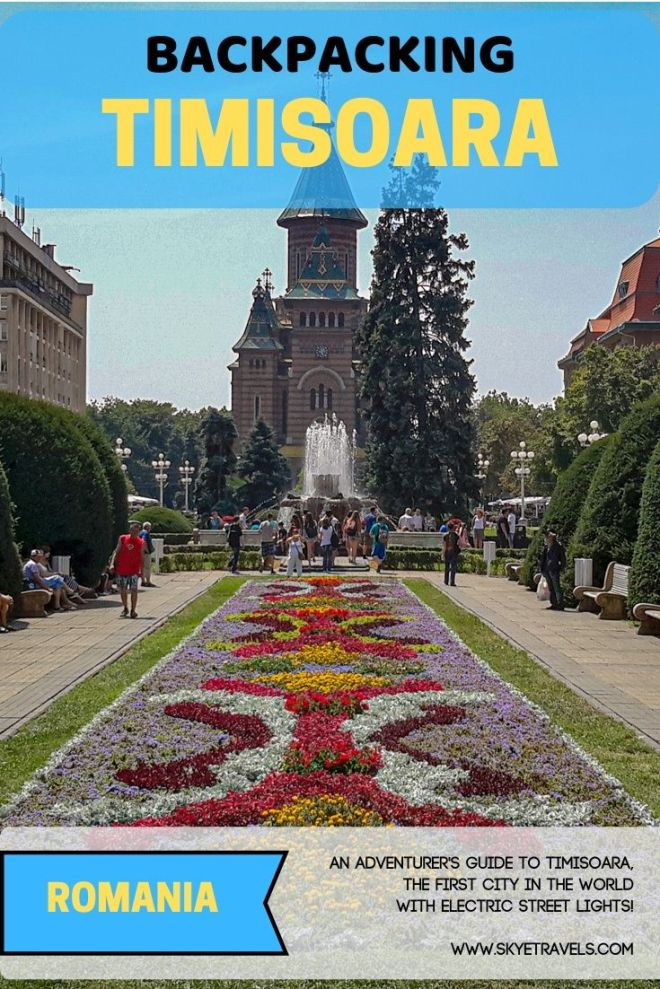 Bet you never heard of Timisoara. This town is right out of a fairy book and my stay there was simply magical. Here\'s a guide for backpacking Timisoara. #Timisoara #Romania #VisitRomania #Backpacking #Lemonade #RomanianFood