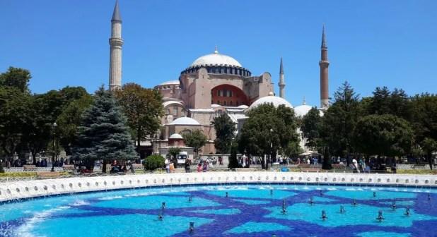 Hagia Sophia and Fountain