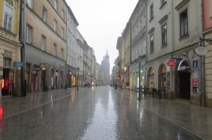 Thunderstorm in Krakow