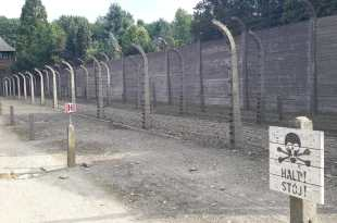 Fence with Warning