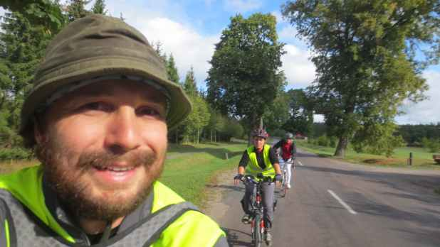 Bike Ride in Lithuania