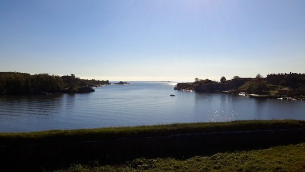 View from Suomenlinna Prison