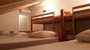 Hostel Bedroom in Split, Croatia