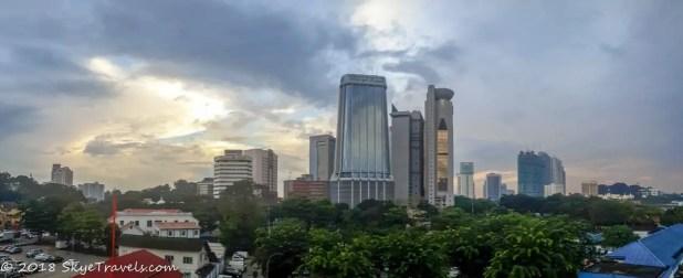 Panorama of South Kuala Lumpur