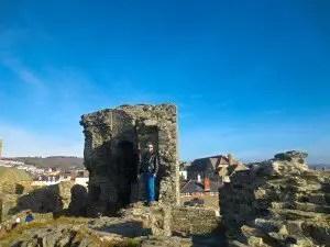 Aberystwyth Castle Selfie